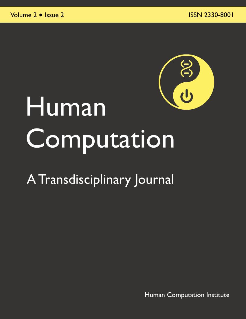 Human Computation, Volume 2, Issue 2, December 2015