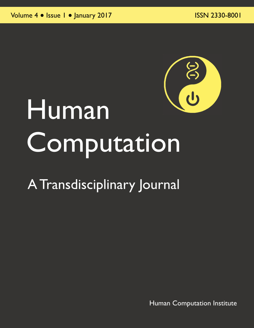 Image of Human Computation journal issue cover